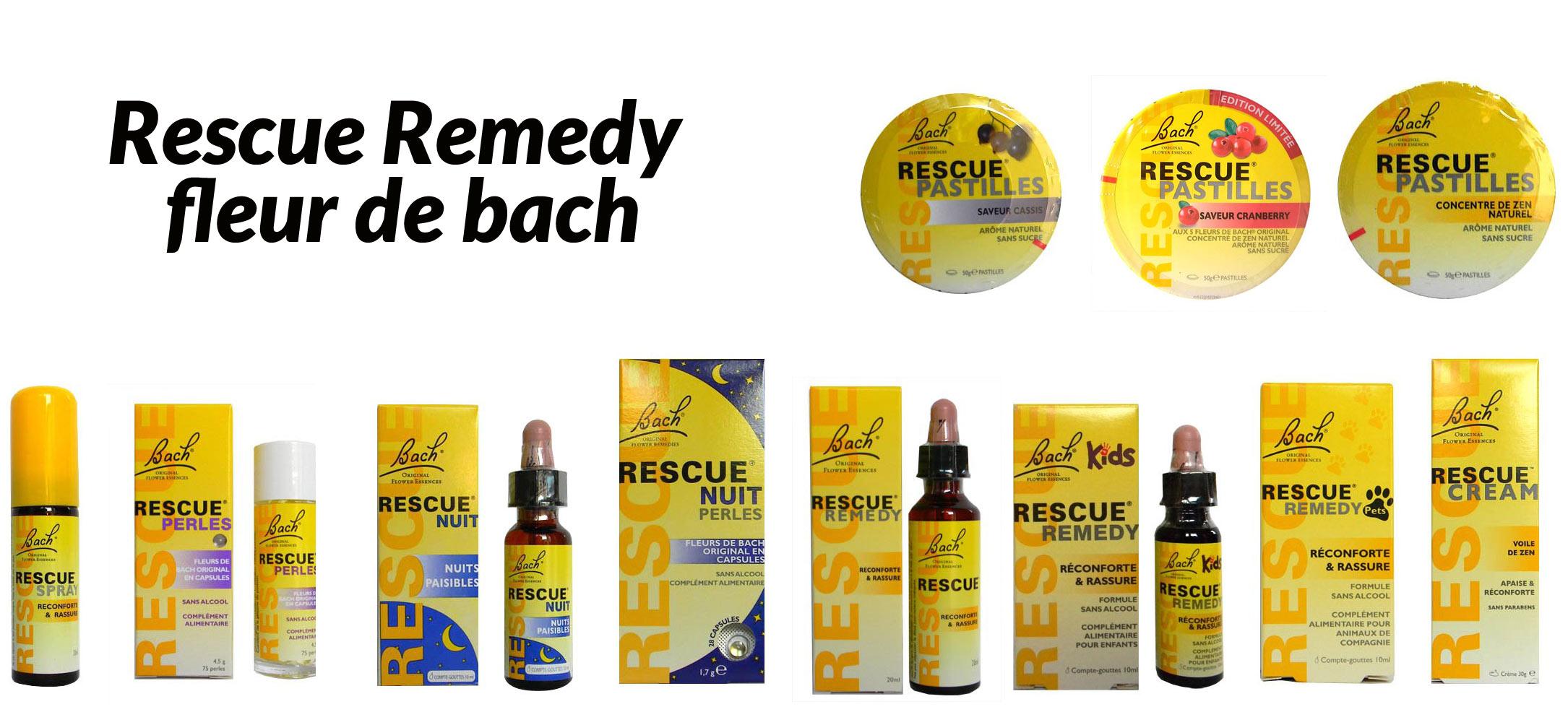 Spray rescue fleur de bach