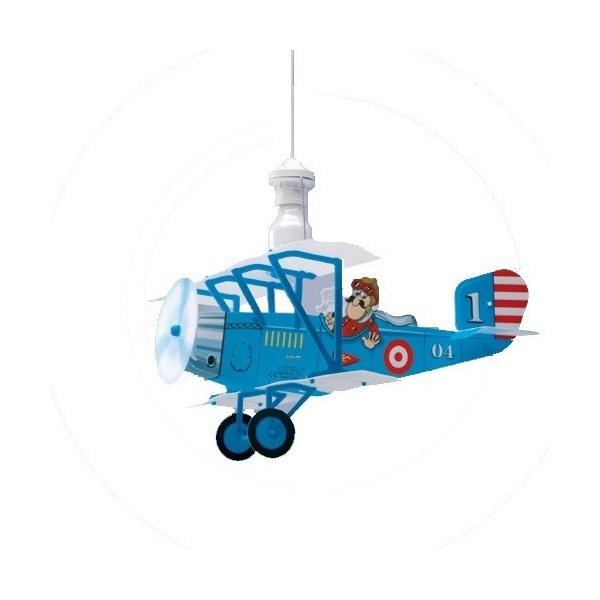 Lustre enfant avion